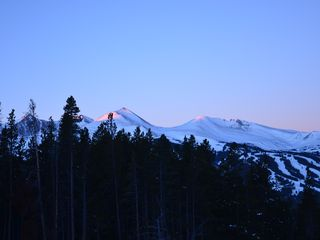 Breckenridge townhome photo - sunrise on the mountains