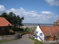Delightful house with views of Old Hunstantons beach and sand dunes -free wifi