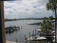 Wide waterway views from every room near the Historic Jupiter Lighthouse!