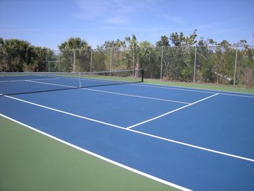 our tenns courts