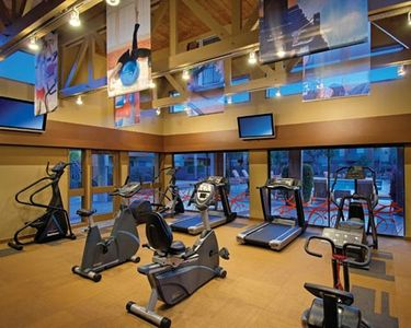 Old Town Scottsdale condo rental - Full Gym for your daily workout (not required on vacation)
