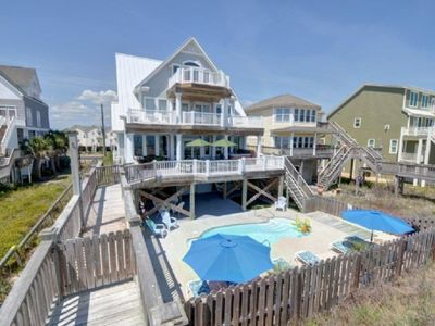 North Topsail Beach house rental - Moondance beckons...