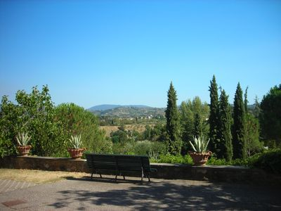 Gavinana - Galluzzo apartment rental - Bench View