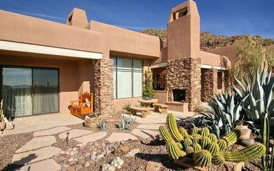 Marana cottage rental - Three patios offer plenty of room to savor the dry, mild winter climate.