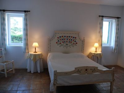 Vale do Covo villa rental - Main bedroom (with own bathroom)