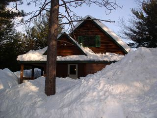 North Conway cabin photo - Snow!