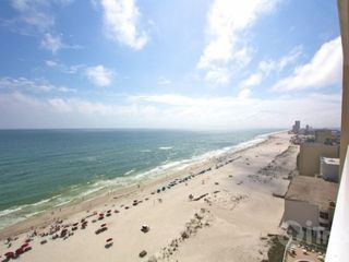 Gulf Shores condo photo - View from balcony to the west