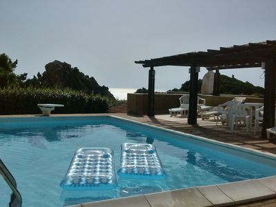 Semi-detached house with pool and sea views in dream location 20% Early booking discount