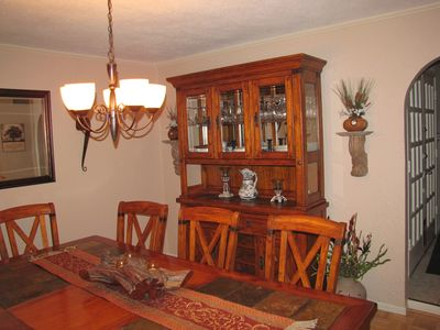 Canyon Lake house rental - Dinning Room
