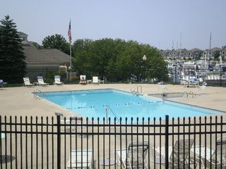 Manistee condo photo - Outdoor Pool and Spa