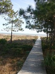 Forest Beach condo photo - Walkway to beach