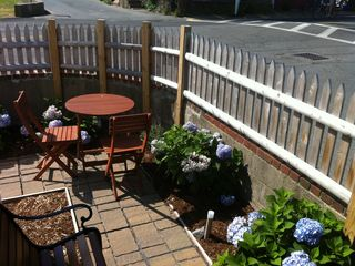 Provincetown condo photo - second seating area with garden