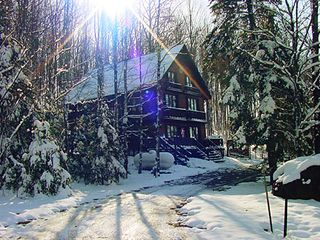 Iron River chalet photo - A crisp, clear wintry morning at Ski Brule.