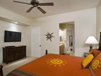 Scottsdale Troon house rental - Plasms Screen TV in the master suite