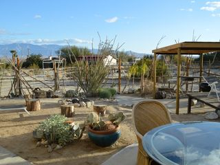 Borrego Springs house photo - Rear