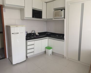 Building facing the beach, Furnished, Beautiful, Wifi - cable TV, daily R $ 150.00