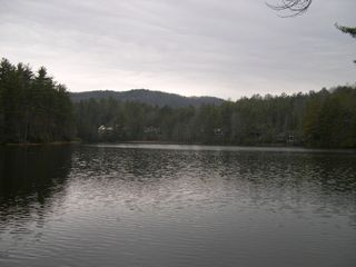 Cashiers house photo - Private Lake a 3 minute walk from the house