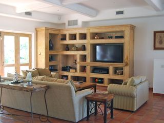 Den with flatscreen TV - Cabo San Lucas villa vacation rental photo