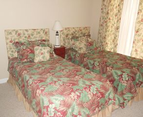 Port Royal villa photo - Guest room suite has private bath - twin beds convert to king on request.