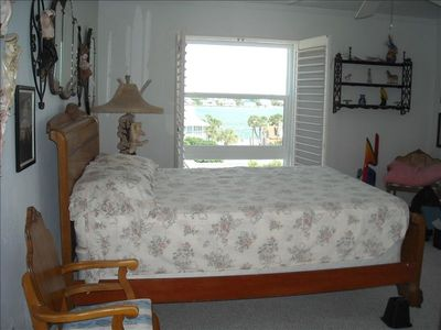 Master Bedroom view of Intercoastal Waterway and Boca Ciega Bay
