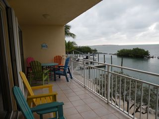 Long Key condo photo - Step out to the Covered Lower Deck w/ Gas Grill