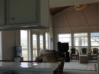 San Luis Pass house photo - View From Kitchen