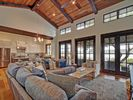Living Area - Large windows let in Lake Travis views.