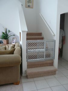 Child safety stair gates supplied