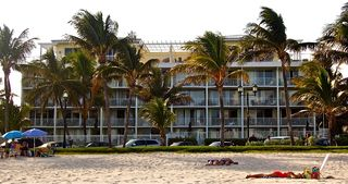 Deerfield Beach condo photo - View of Building from the Beach