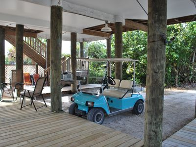 Golf Cart for Rental-Fun to drive around island