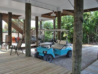 Don Pedro Island bungalow photo - Golf Cart for Rental-Fun to drive around island