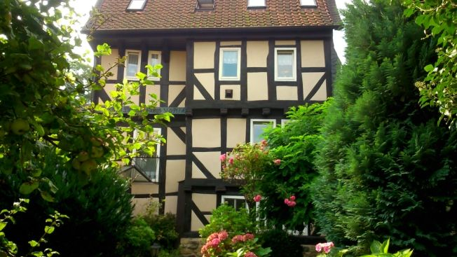 Beautiful apartment in stylish timbered in the quiet old town of Goslar.