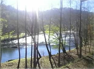 Hayesville cabin rental - Wake Up to This Incredible View From The Side Deck