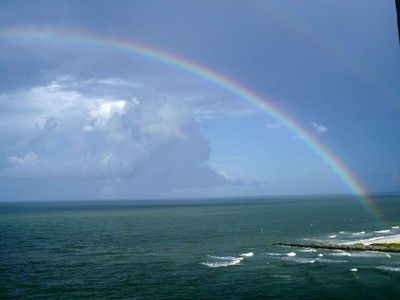 Rainbow Over the Gulf