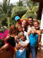 Troncones estate photo - Family Fun!