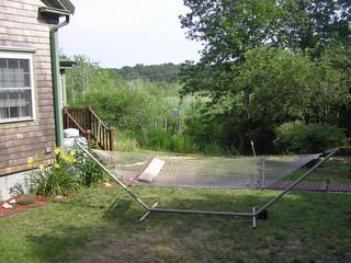 Wellfleet cottage photo - Relax on the hammock in the backyard