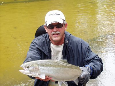 World class steelhead fishing nearby