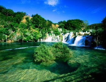 National park Krka, 55 km away