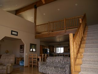 View of Loft from Great Room - Bryce Canyon house vacation rental photo