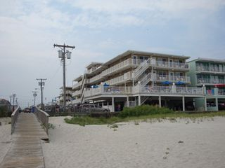 Wildwood Crest condo photo - Condo from the beach