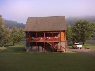 Claytor Lake cabin photo - Fog on the Mountain in the Morning