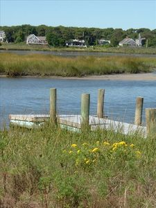 Walk or bike to Buck's Creek for picnics, kayaking, crabbing