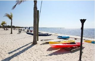 Tampa townhome photo - picture of private community beach
