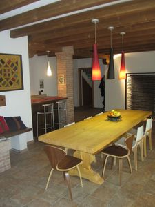 Accommodation near the beach, 450 square meters, with garden