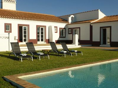 Typical Alentejo house with pool (Costa Alentejana, 15min from Porto Covo)