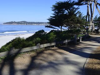 Carmel cottage photo - Path overlooking the beach.