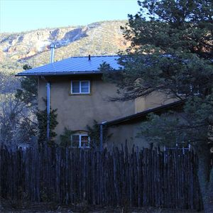Jemez Springs house rental - Peaceful views from every side.