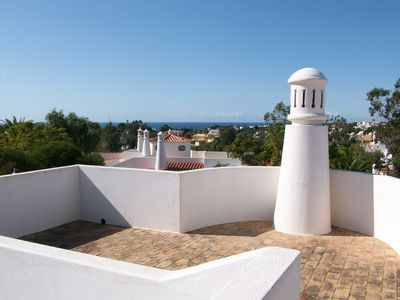 Vale de Milho villa rental - View from roof terrace