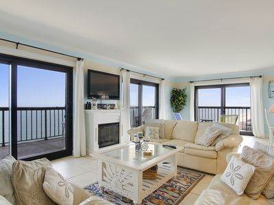 Spectacular Luxury Ocean Front Penthouse with huge 3 sided Balcony!