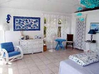 Elbow Cay and Hope Town villa photo - Large master bdrm. w/bath & walk-in closet. King size bed.